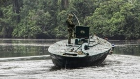 COLOMBIA-DRUGS-SUBMERSIBLE-SEIZURE