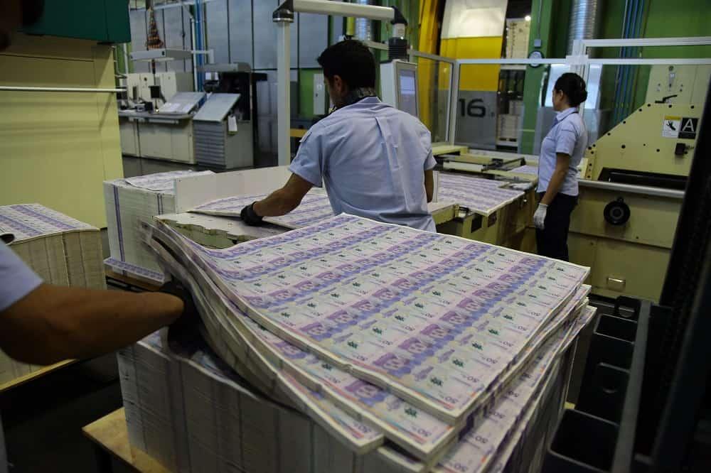 Imprenta de billetes - Pulzo.com