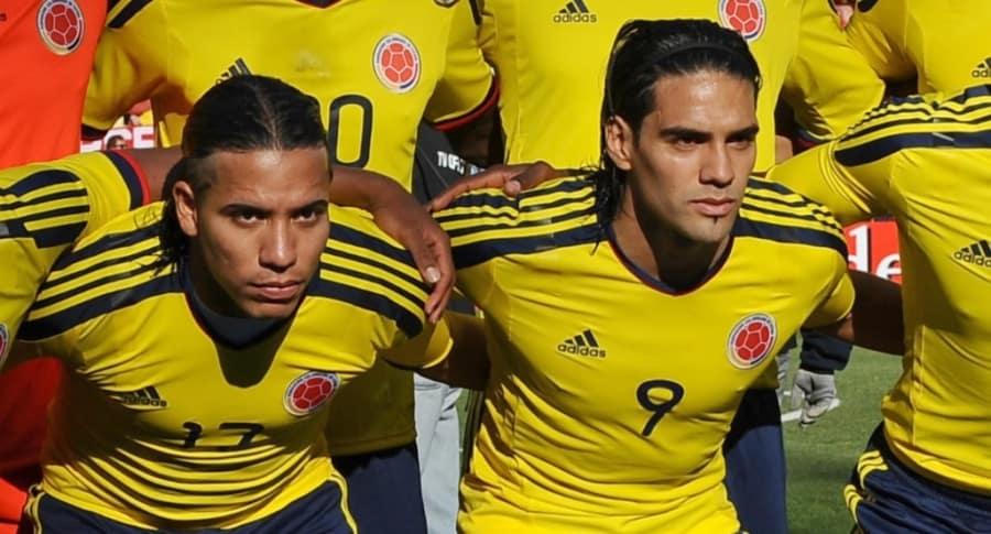 Dayro Moreno y Falcao García
