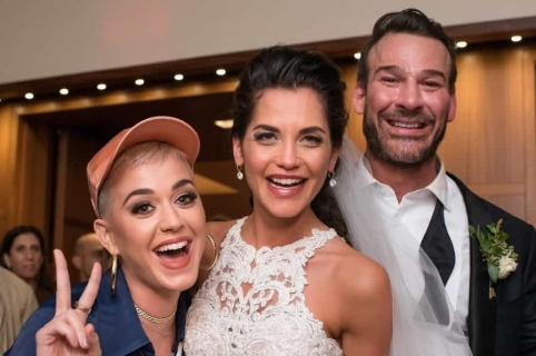 Katy Perry se coló en matrimonio