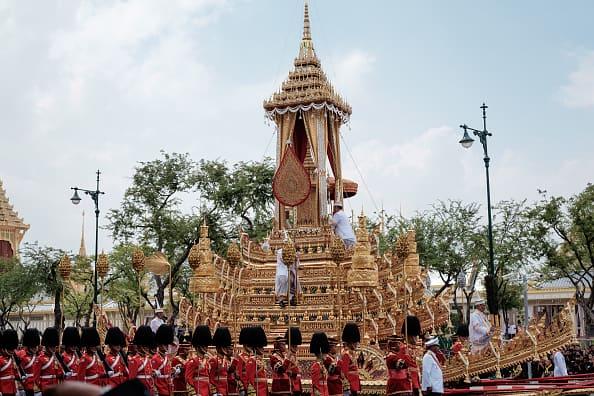 Funeral del rey de Tailandia