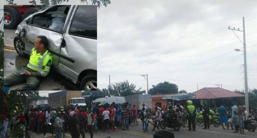 Accidente en Santa Marta