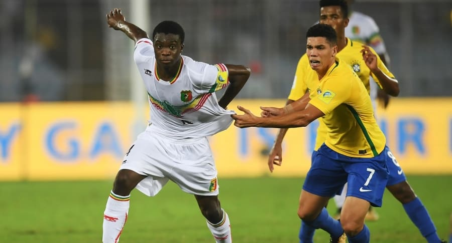 Brasil y Malí en el Mundial Sub-17