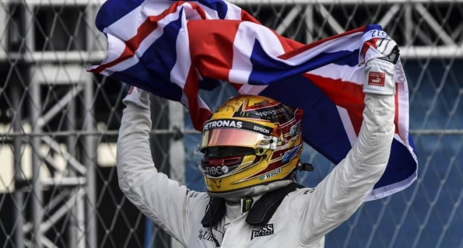Lewis Hamilton, campeón de F1 2017