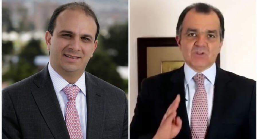 Carlos Camargo y Óscar Iván Zuluaga
