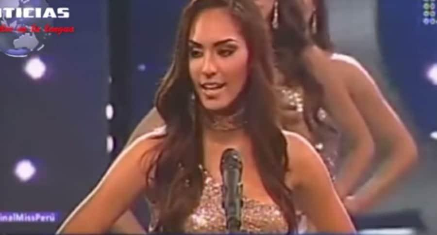 Miss Perú Romina Lozano. Pulzo.