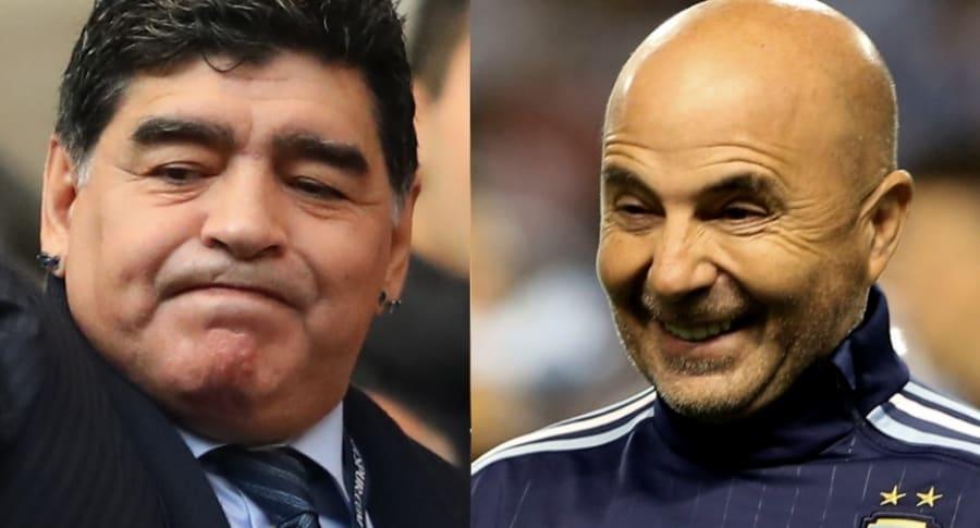 Diego Maradona / Jorge Sampaoli