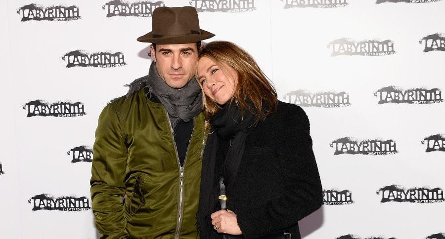 Justin Theroux y Jennifer Aniston