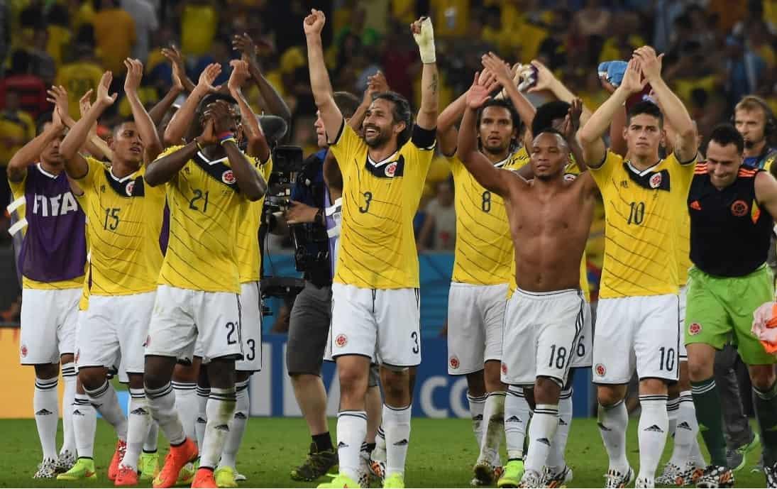Colombia, Brasil 2014