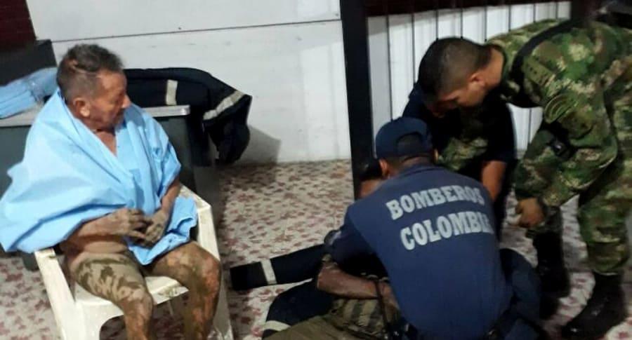 Desbordamiento de río en Colombia deja 4 desaparecidos y al menos 26 heridos