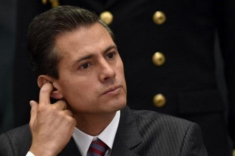Presidente de México, Enrique Peña Nieto. Pulzo.