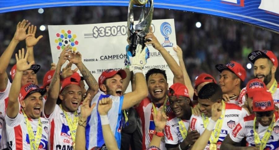 Junior campeón