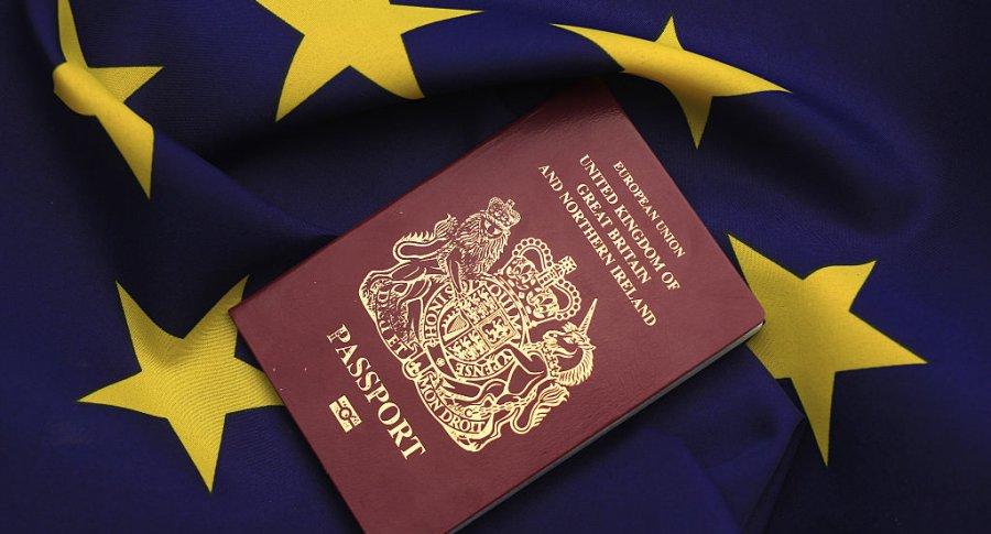 Pasaporte Unión Europea