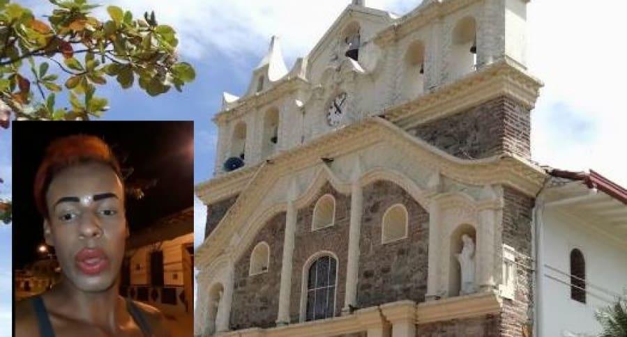 Iglesia de Anzá, en Antioquia