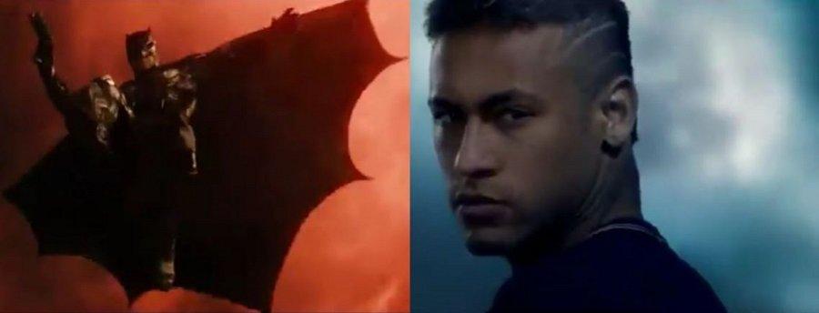 Neymar y Batman