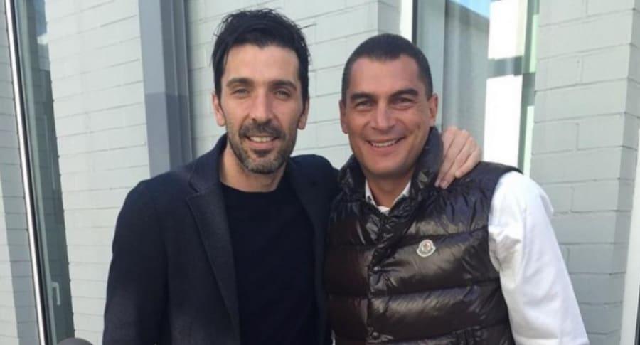 Gianluigi Buffon y Faryd Mondragón