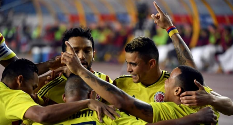 China 0-4 Colombia