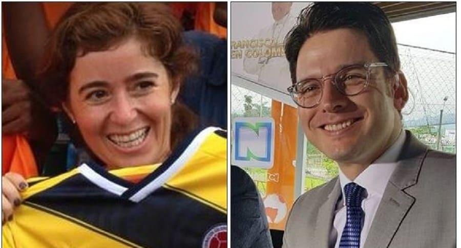 Catalina Gómez Ángel y Yamid Palacio