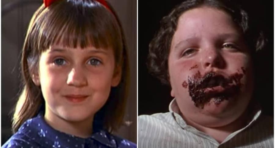 Imágenes de la película 'Matilda'.
