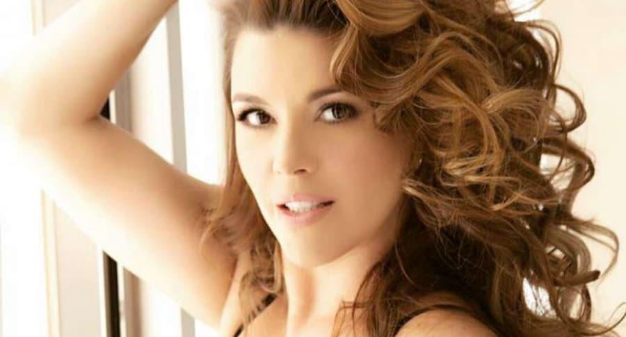Alicia Machado, ex Miss Universo.