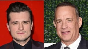 Josh Hutcherson y Tom Hanks. Pulzo.