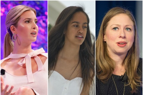 Ivanka Trump / Malia Obama / Chelsea Clinton