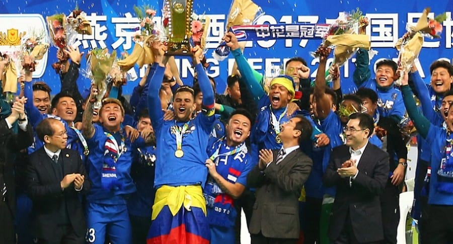 Giovanni Moreno campeón Copa China