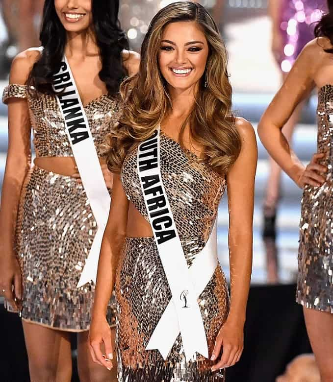 Demi-Leigh Nel-Peters (Sudáfrica), Miss Universo.