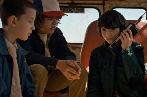 Eleven, Dustin, Mike y Lucas, personajes de 'Stranger Things'. Pulzo.