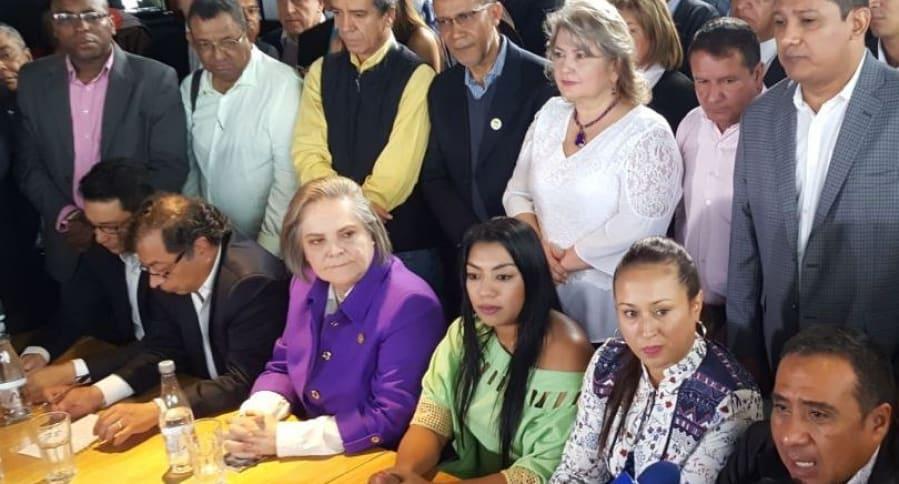 Lista de Petro y Clara López