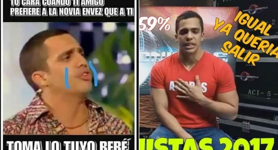 Memes sobre Andrés Altafulla en 'Protagonistas'.