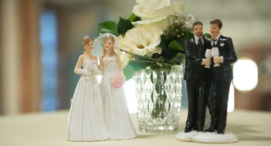 Pastel de boda gay
