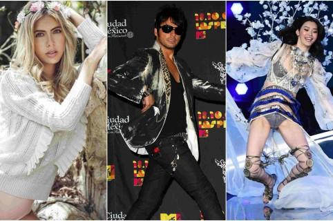 Osos, caídas y ridículos de famosos en 2017