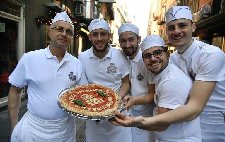 Pizzeros napolitanos
