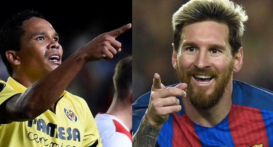 Carlos Bacca / Lionel Messi