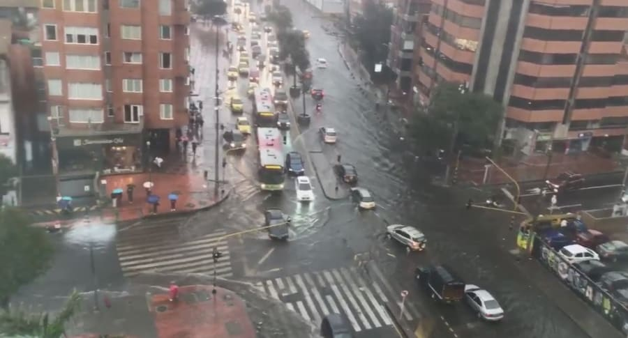 Inundación en Bogotá