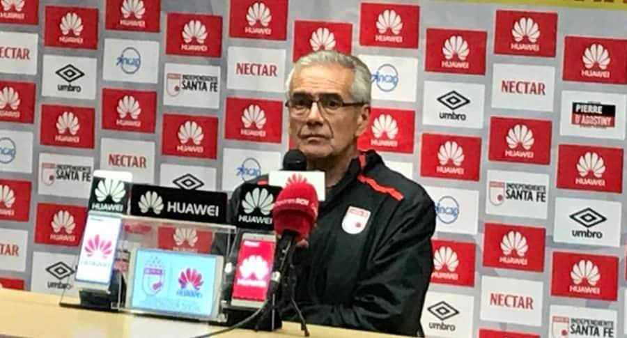 Gregorio Pérez, técnico de Independiente Santa Fe
