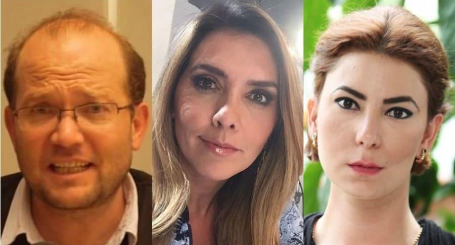 Daniel Samper, Mónica Rodríguez, Leszli Kálli
