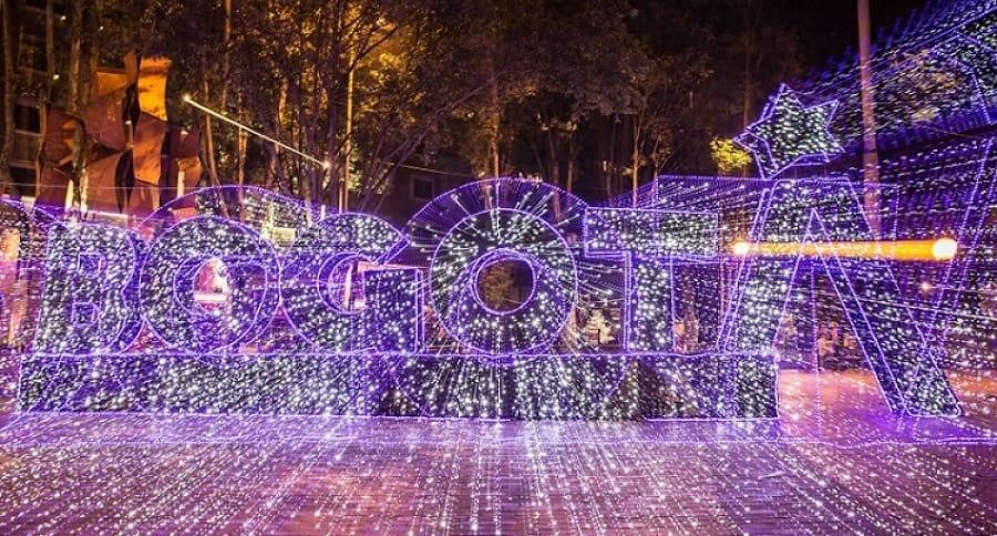 Bogotá luces Navidad
