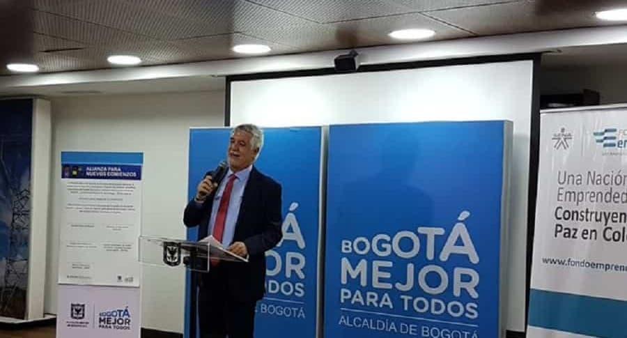 Enrique Peñalosa y eslogan Alcaldía de Bogotá