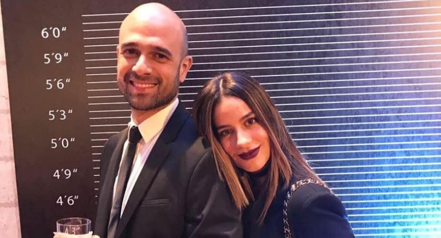 La actriz Manuela González y su esposo  Andrés Vasco.