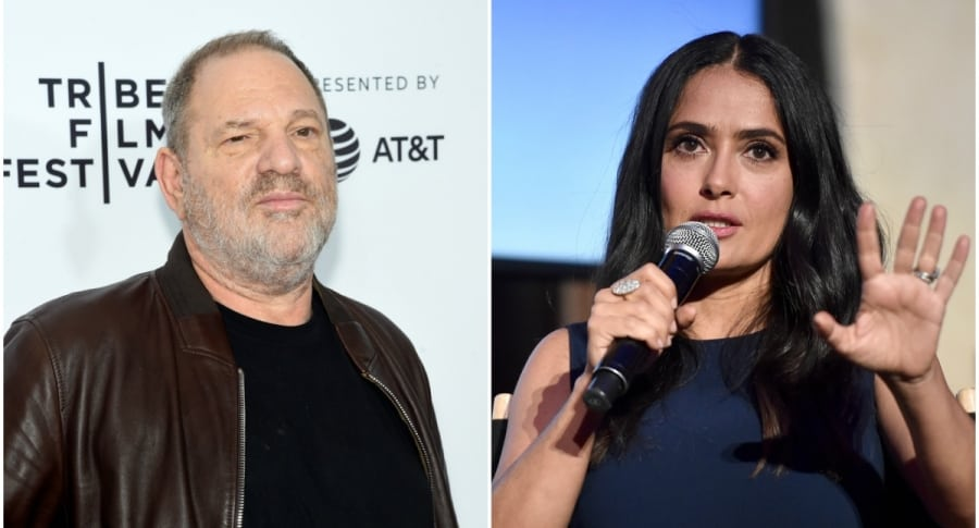 Harvey Weinstein / Salma Hayek