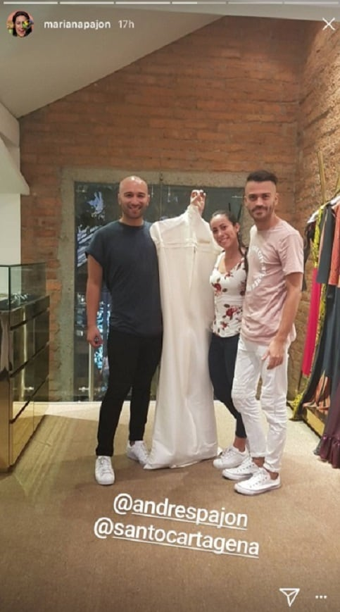 Matrimonio De Mariana Pajon : Mariana pajón se casa hoy y así han sido sus últimas horas