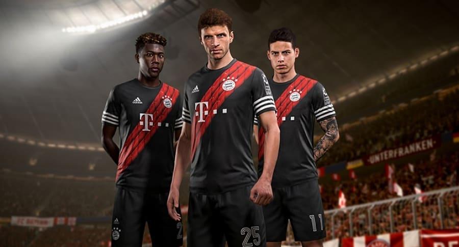 Cuarto uniforme Bayern Múnich FIFA 18