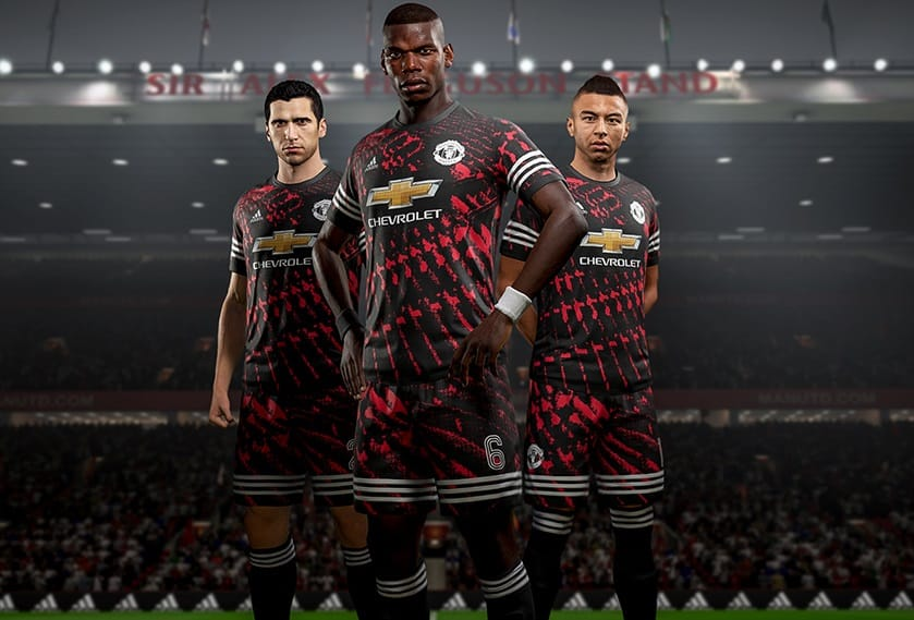 Cuarto uniforme Manchester United FIFA 18