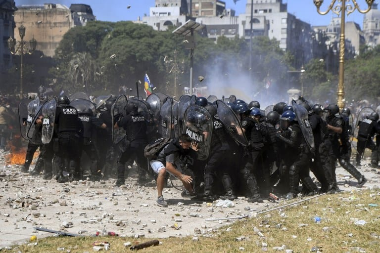 ARGENTINA-PENSIONS-PROTEST