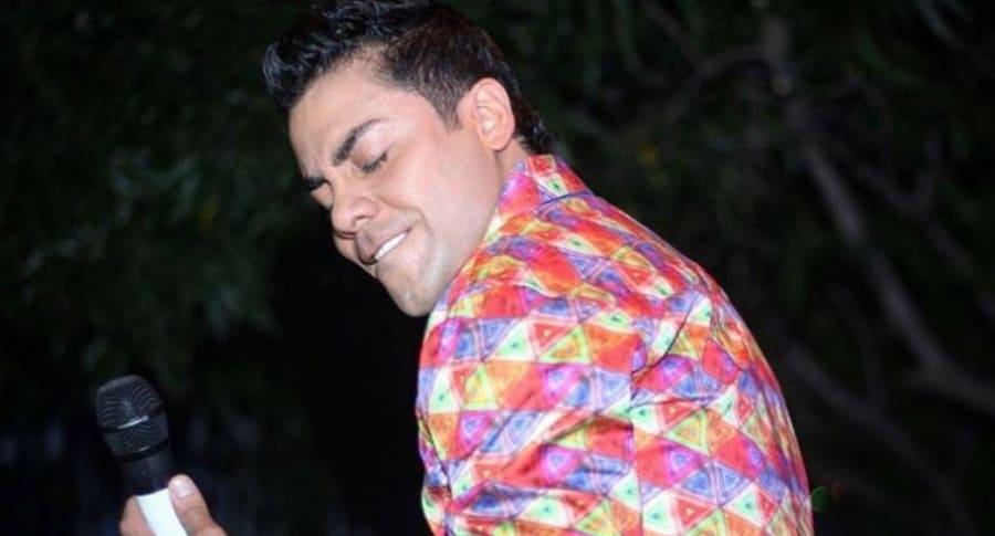 Jorge Iván 'Churo' Díaz, cantante vallenato buscado por las autoridades