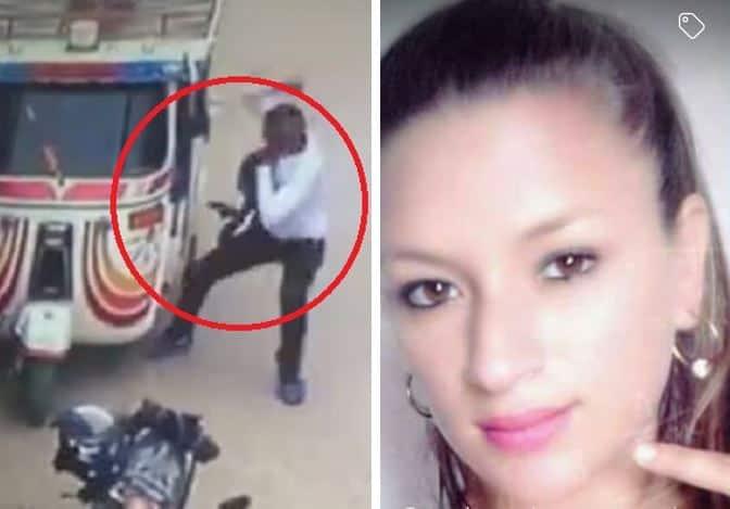 Momento del ataque en contra de María Yulitza Carvajal Sánchez