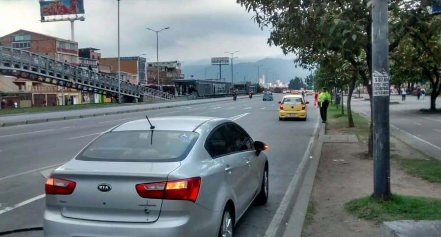 Movilidad Bogotá, cierres, carros