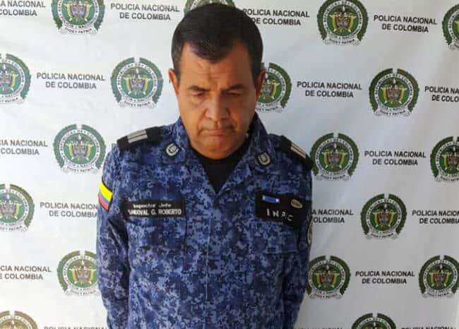 Roberto Antonio Sandoval, funcionario capturado